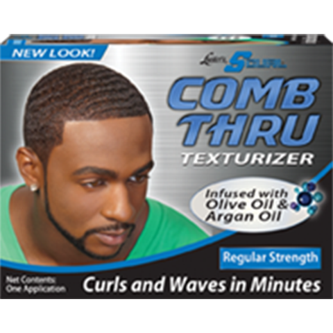 SCurl COMB THRU Texturizer - 1 application Kit