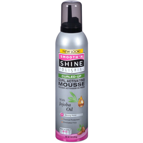 Smoothn Shine CURLING Mousse - 9oz foam #60800