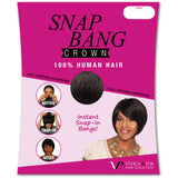 Snap Bang Crown by Vivica A. Fox - TexasBeautySupplies