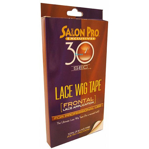 Salon Pro 30 Second LACE WIG TAPE Frontal Lace Application #58588