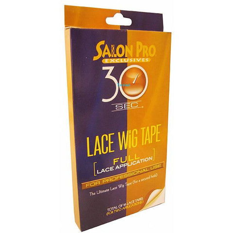 Salon Pro 30 Second LACE WIG TAPE Full Lace Application #58589