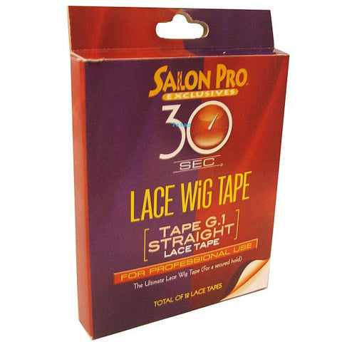 Salon Pro 30 Second LACE WIG TAPE Straight Lace tape #58591