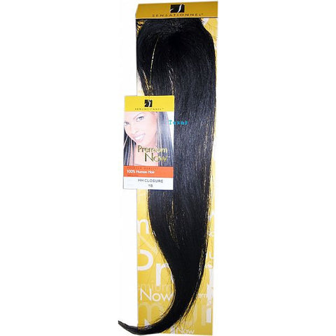Sensationnel HH Closure Hair Piece- 100% Human Hair - 16 Inch +