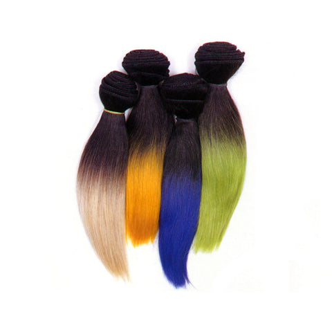 Enstyle - H Euro Silky Straight Weaving Hair - 100% Human Hair Extension