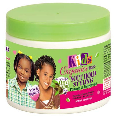 Africa Best Organics Soft Hold Styling for Kids - 4oz jar
