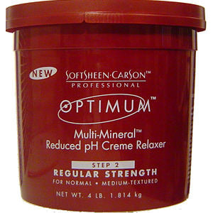 SoftSheen Optimum MultiMineral Creme Hair Relaxer - Step 2 - 4lb tub