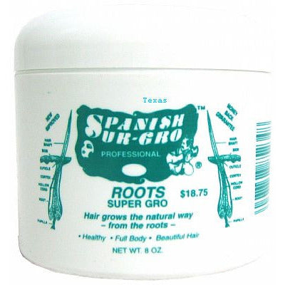 Spanish Sur-Gro ROOTS SUPER GRO - 8oz jar