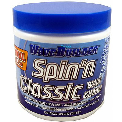Spartan WaveBuilder Spin n Classic Wave Cream - 8oz jar #35708
