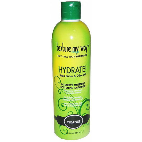 Texture My Way CLEANSE Hydrate Shampoo - 12oz bottle