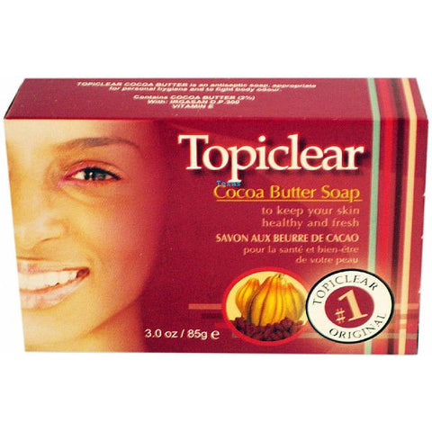 Topiclear Cocoa Butter Soap - 3 oz bar #12301
