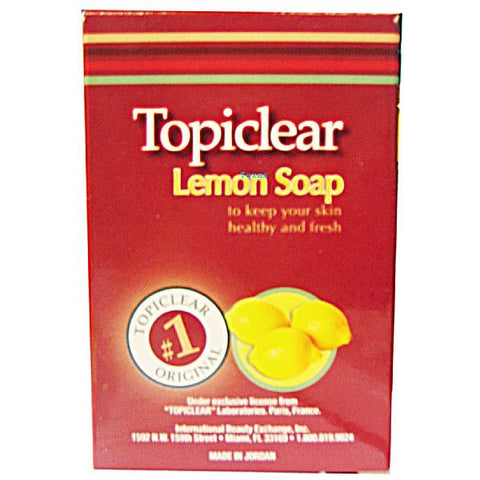 Topiclear LEMON Beauty Soap - 3oz