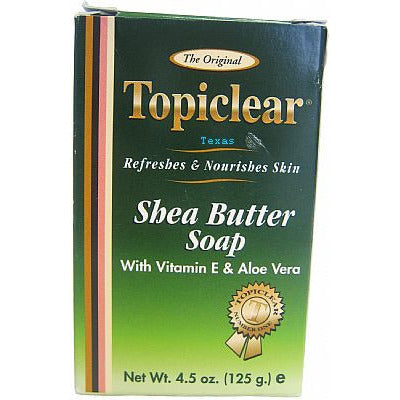 Topiclear Original SHEA BUTTER SOAP - 4.5oz bar