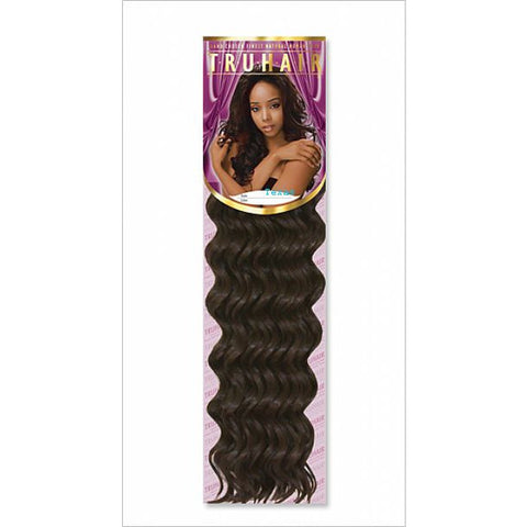 TruHair DEEP WEAVING - 100% Premium Human Hair Blend - 12inch
