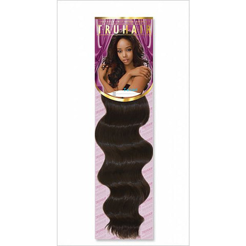 TruHair RIPPLE DEEP WEAVING - 100% Premium Human Hair Blend - 14inch