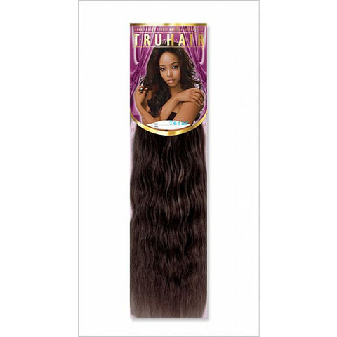 TruHair WET AND WAVY WEAVING - 100% Premium Human Hair Blend - 12inch