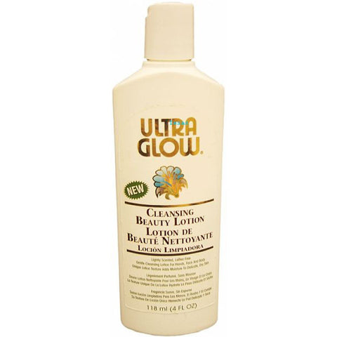 Ultra Glow Cleansing Beauty Lotion - 4oz bottle