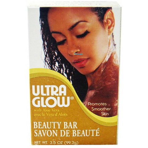 Ultra Glow with Aloe Vera BEAUTY BAR - 3.5oz