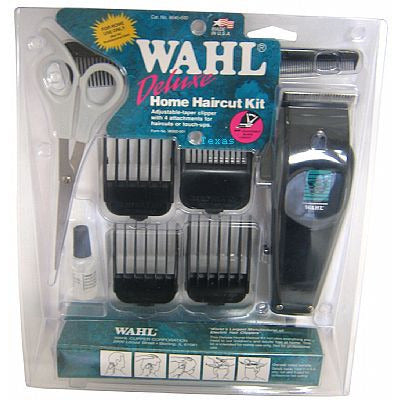 Wahl Deluxe Home Haircut Clippers Kit
