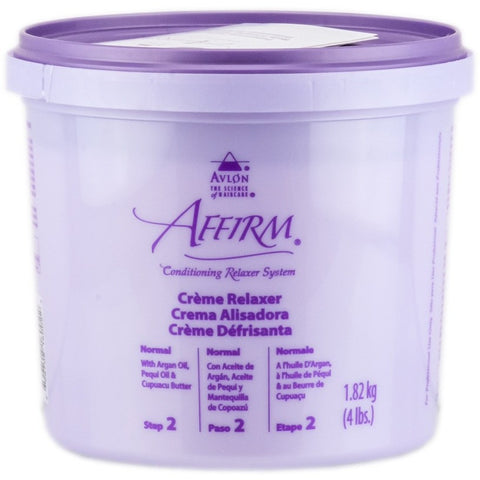 Affirm Creme Relaxer Step 2 - 4 lb tub