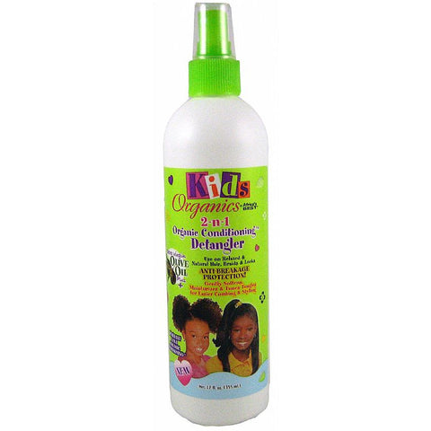 Africa Best Organics 2 n 1 Natural Conditioning Detangler for Kids - 12oz spray
