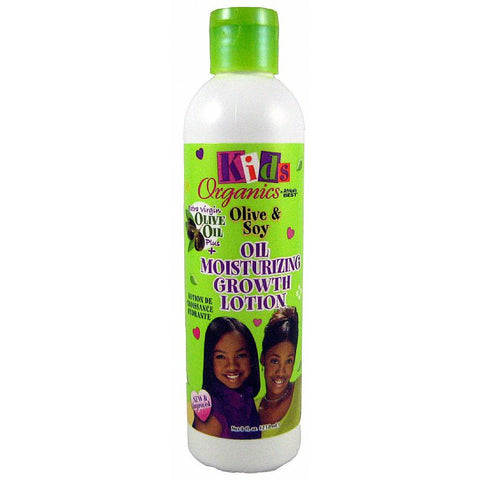 Africa Best Organics Olive Soy and Oil Moisturizing Growth Lotion for Kids - 8oz bottle