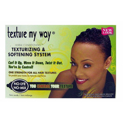 Africa Best ORGANICS Texture My Way TEXTURIZING System kit # 23201