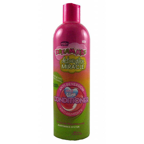 African Pride Dream Kids Detangler Miracle Anti Reversion Anti Humidity Conditioner - 12oz bottle