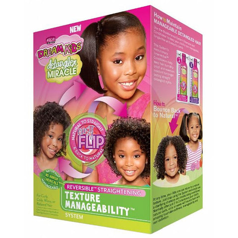 African Pride Dream Kids Detangler Miracle Texture Manageability System