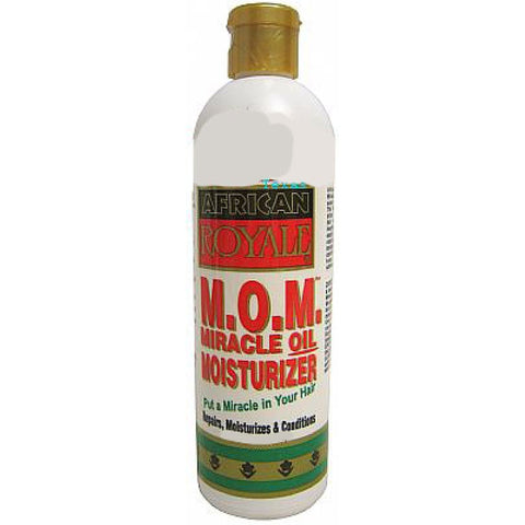 African Royale M.O.M. Miracle Oil Moisturizer - 12oz bottle
