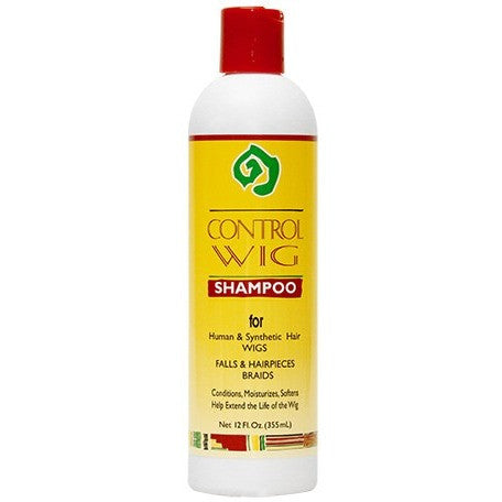 African Essence CONTROL WIG Shampoo - 12oz bottle (NO CA)