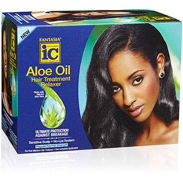 Fantasia IC Aloe Oil Sensitive Scalp No Lye System Hair Treatment Relaxer