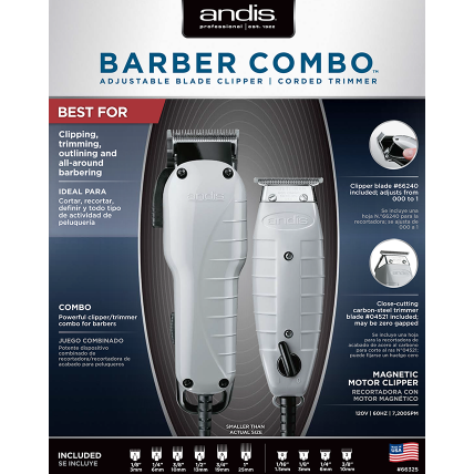 Andis Clipper Barber Combo
