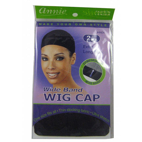 Annie Wide Band Extra Long Size WIG CAP #4404