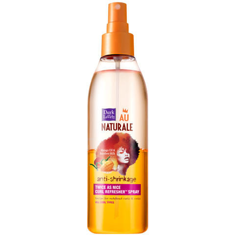 Dark & Lovely Au Naturale Anti-Shrinkage Twice As Nice Curl Refresher Spray - 8.5fl oz