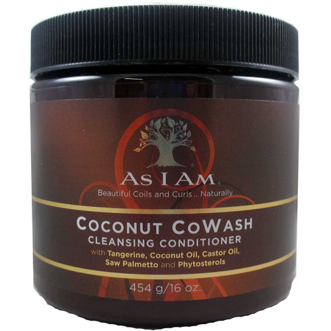 As I Am Coconut CoWash - 16oz jar