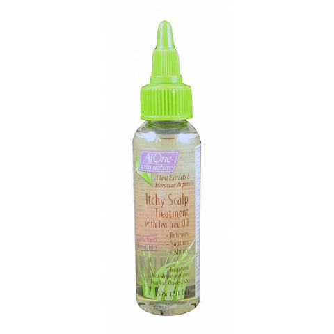 At One ITCHY SCALP Treatment with Tea Tree Oil - 2oz