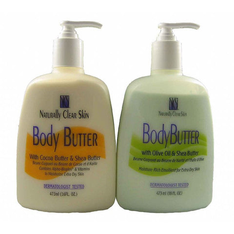 At One Naturally Clear Skin BODY BUTTER - 16oz pump