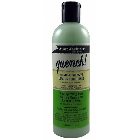 Aunt Jackies Quench Moisture Intensive Leave In Conditioner - 12oz bottle