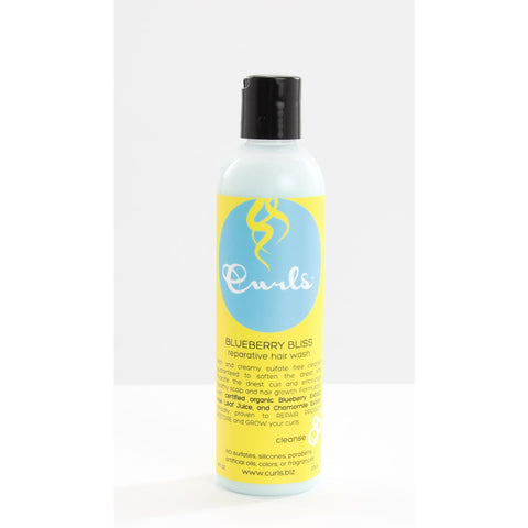 Curls Blueberry Bliss Reparative Hair Wash - 8oz