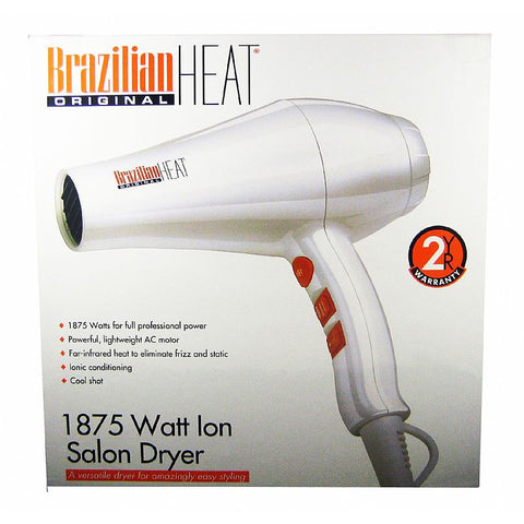Brazilian Heat 1875watt Hair Dryer # BBH3203