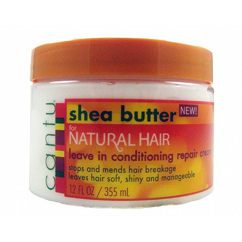 Cantu SHEA BUTTER Leave In Conditioning Cream - 12oz jar