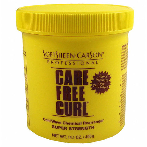 Care Free Curl Chemical Rearranger - 14oz jar