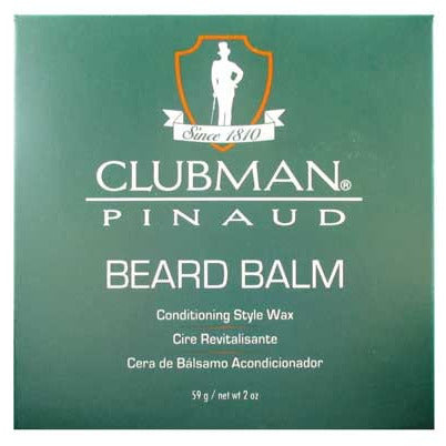 Clubman Pinaud Beard Balm Conditioning Style Wax - 2oz jar