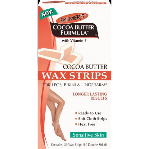Palmer's Cocoa Butter Wax Strips - 20 Wax Strips