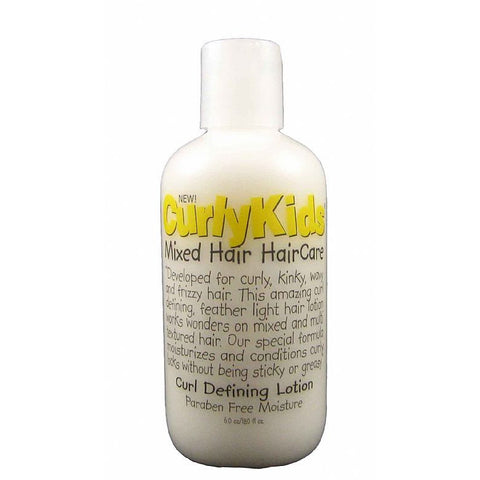 Curly Kids Mixed Hair HairCare Curl Defining Lotion - 6oz bottle