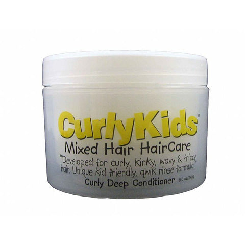 Curly Kids Mixed Hair HairCare Curly Deep Conditioner - 8oz jar