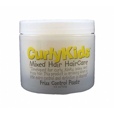 Curly Kids Mixed Hair HairCare Frizz Control Paste - 4oz jar