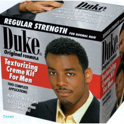 Duke Texturizing Creme Kit For Men - REGULAR STRENGTH - 2 applications