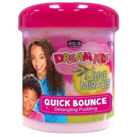 African Pride Dream Kids Olive Miracle Quick Bounce Pudding 15oz