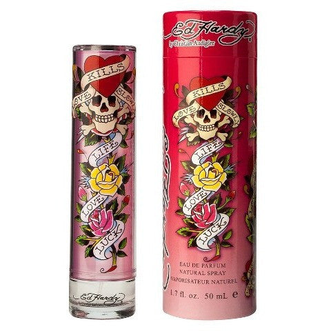Ed Hardy Eau De Parfum Natural Spray - 3.4oz
